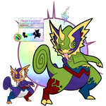 Mega Kecleon by Kakity