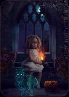 Halloween 2012 (Comission) by Nikulina-Helena