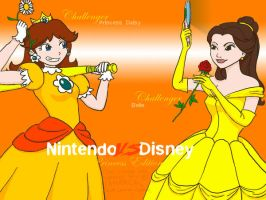 NvsD Daisy VS Belle by lamarce