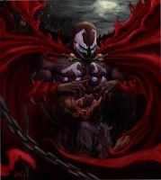 "Spawn ""Tell me, where is he"" by Daviddleonluis"