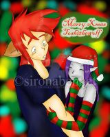 Merry Xmas Toshithewolf by SironaBennet