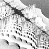 The Great Fractal Wall by Aexion