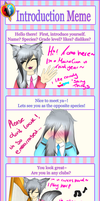 :UN-A: Introduction Meme - Tomo Tanne by Piyos-Adoptables