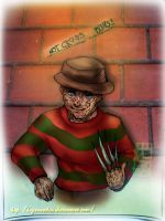 Hot Cross Bun Krueger by hugMEETSkiss