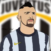 Arturo Vidal Vector by bluezest1997