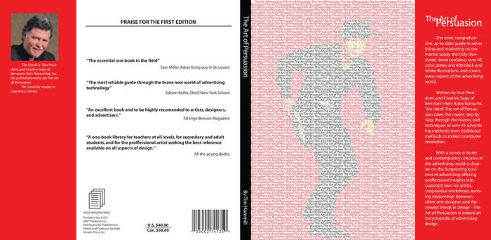 The Art of Persuasion2 Book Cover Design by KeatonKohl