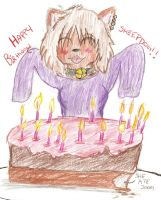 Happy Birthday by 666bloodyhell666