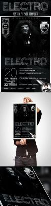 Electro Poster / Flyer Template by retinathemes