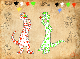 Fritz and Blizz - character sheet by StanHoneyThief