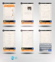 MyChef app re-branding - Pages by fReeDoM257
