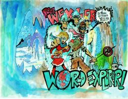 PROF WEXLER VS THE APEMEN OF THE HIMALAYAS by BERLINsART