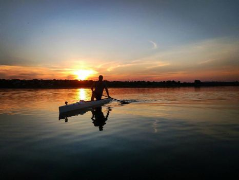 Evening Rowing -) by DanDarvin