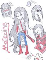 Marceline Sketches by girfan18