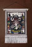 The North- illuminated manuscript on tapestry by RFabiano