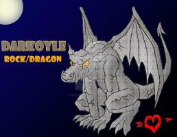 Darkoyle - Rock Dragon Fakemon by JamalPokemon