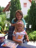 my cousin-celina and melisa by aytulike