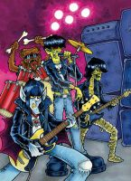 The Original Monsters of Rock by nakedDerby