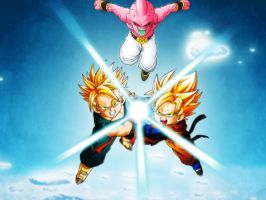 G   and    T     vs     Buu by Carlos-Potter