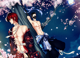Thousand Cherry Blossoms by CuBur