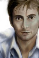 David Tennant by Rainforestgoddess