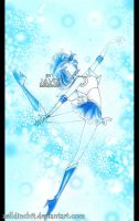 Sailor Mercury - Mercury Power Make up by zelldinchit