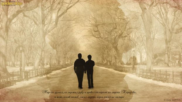 These Are the Golden Days - Wallpaper 2 by madhutter