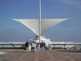 Milwaukee Art Museum by Juputoru