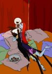 Jack and Sally Share a Strawberry by HollyBecker