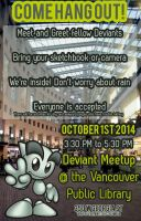 Vancouver DevMeet October 1st at the library by RobynRose