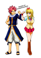 Come on! Lucy |NaLu| by HinamoriMomo21