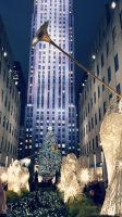 Rockefeller Center Christmas Tree by rainispouring