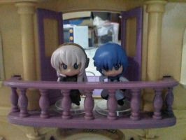 Luka and Kaito at the second floor by margarethere