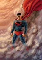 Superman - Color by GabrielJardim