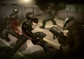 Deus Ex: Human Revolution by PatrickBrown