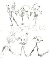 Adoptables-CLOSED by 2012kiluall