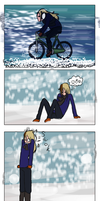I hate snow... by Super-kip