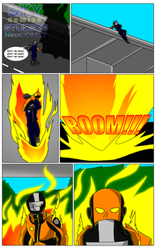 Lava Man Preview (6) by SKYcomicsSTUDIOS