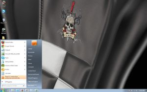 Calavera windows 7 theme by windowsthemes