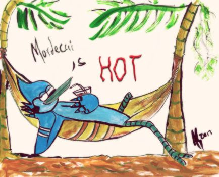Mordecai is hot by Yasithecat