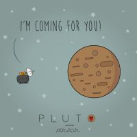 Say hello to Pluto by Pincons
