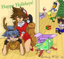 A Frivolous Christmas by SolitaryWolf