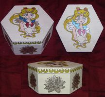 Sailor moon Box by princessfromthesky
