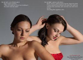 ArtModels vs Glamour editing by livemodelbooks