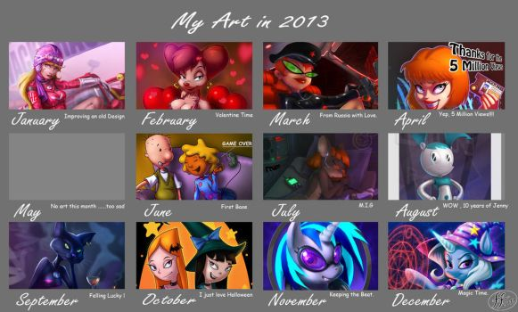 2013 art summary by 14-bis