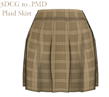 MMD- Plaid Skirt -DL by MMDFakewings18