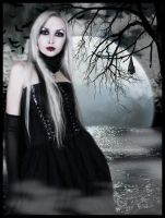 Full moon by MorbidMorticia
