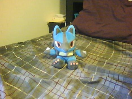 A Wild Lucario Appeared by OneWhoSucksBlood