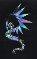 Tangram Dragon by songgryphon
