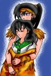 Kouga and Kagome by Kouga-x-Kagome-Club