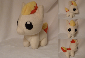 Ponyta Plushie by Plush-Lore